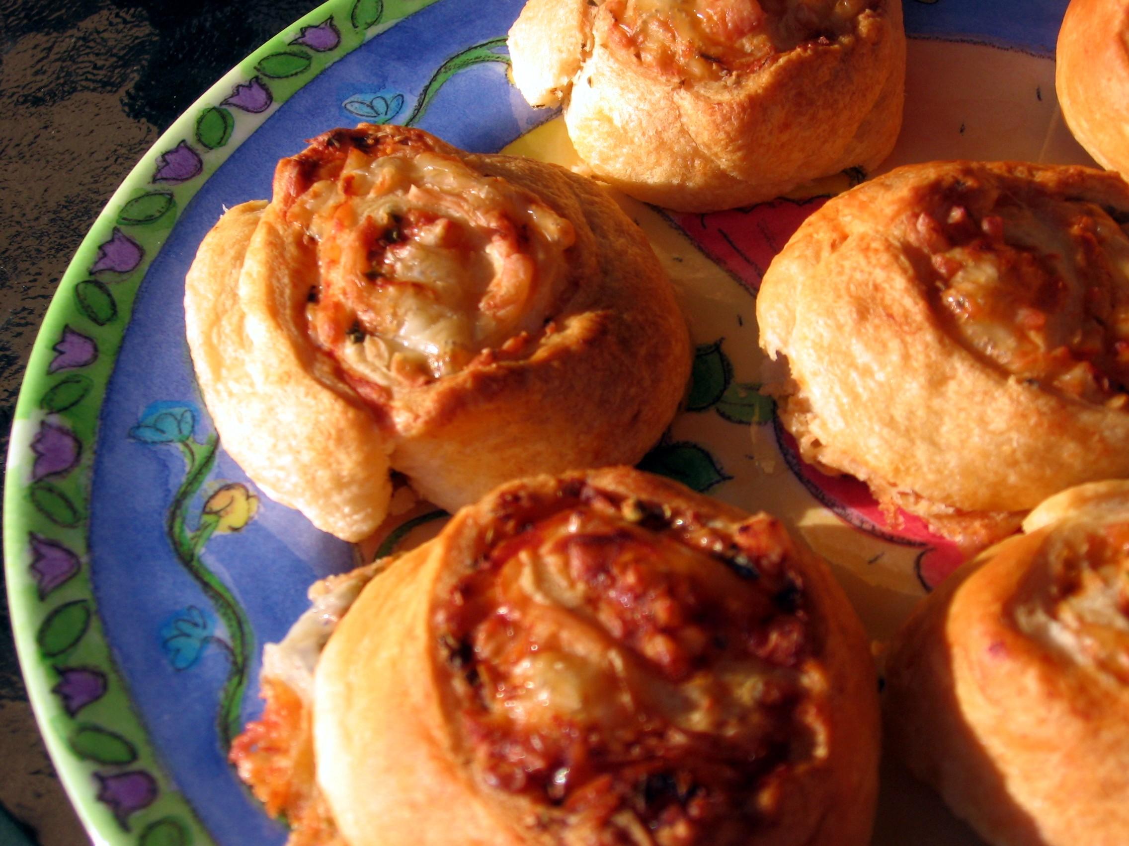 Pizza Spirals  OAMC Recipe