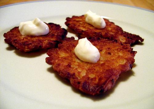 Kittencal's Onion Patties/Latkes Recipe