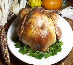 Honey Brined Herb Roasted Turkey