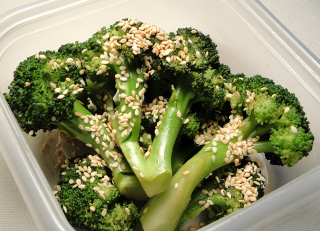 Sesame Broccoli, Really..it's Good! Recipe