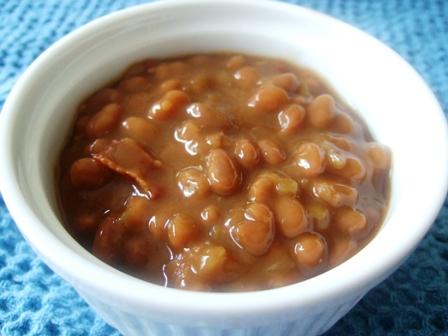 Apple Baked Beans