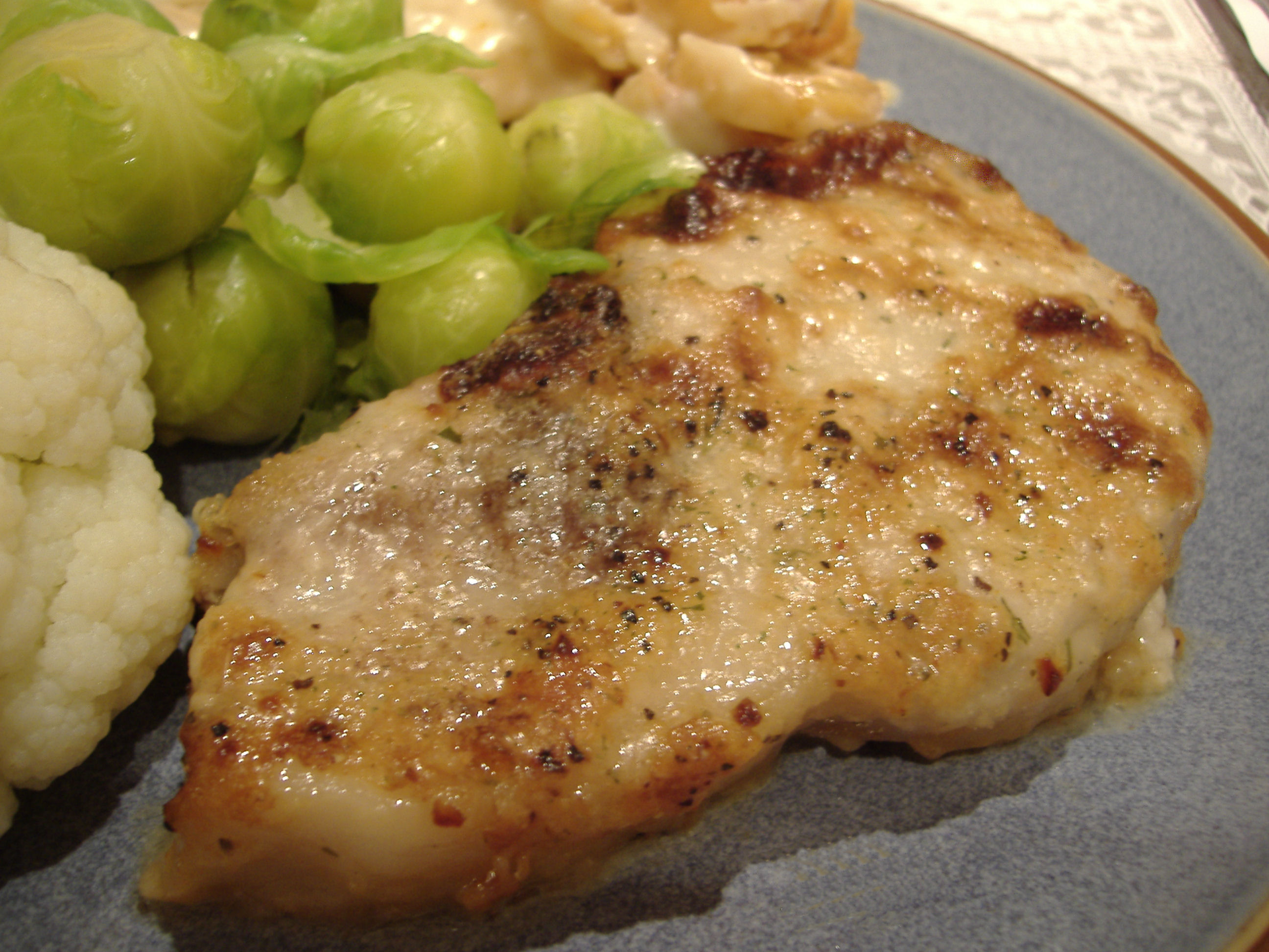 Caesar Pork Chops
