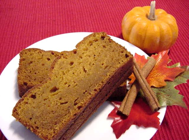 Melt in Your Mouth Pumpkin Bread Recipe