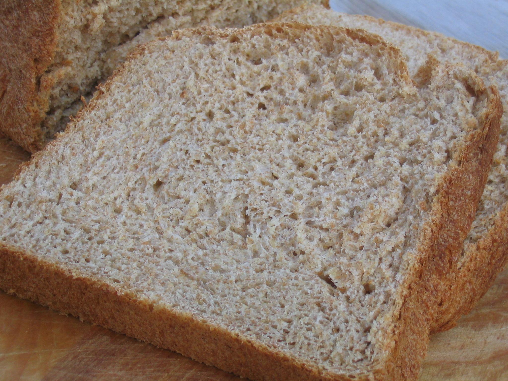 Heavenly Whole Wheat Potato Bread (Bread Machine)