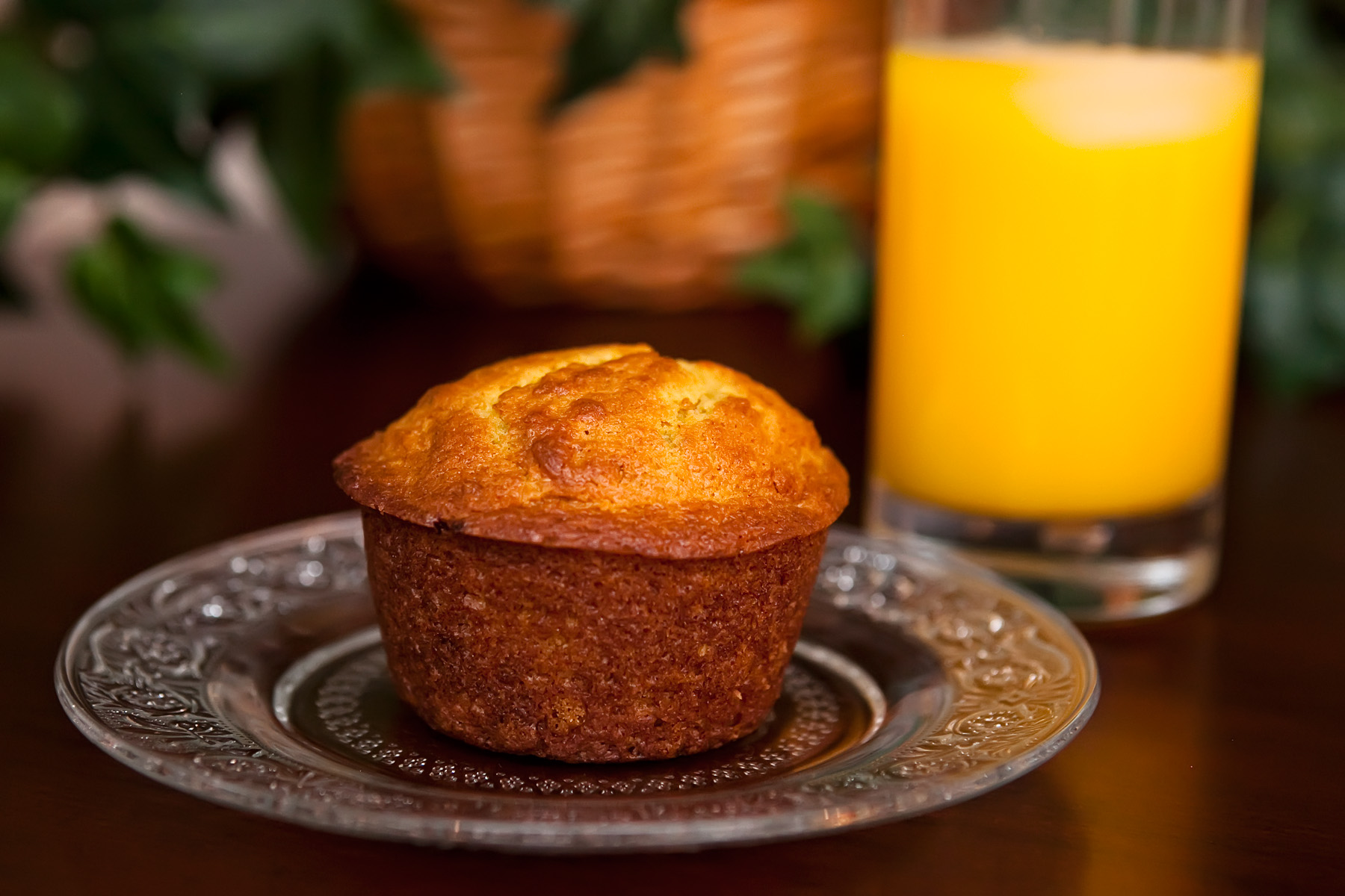 Fresh Orange Muffins Recipe