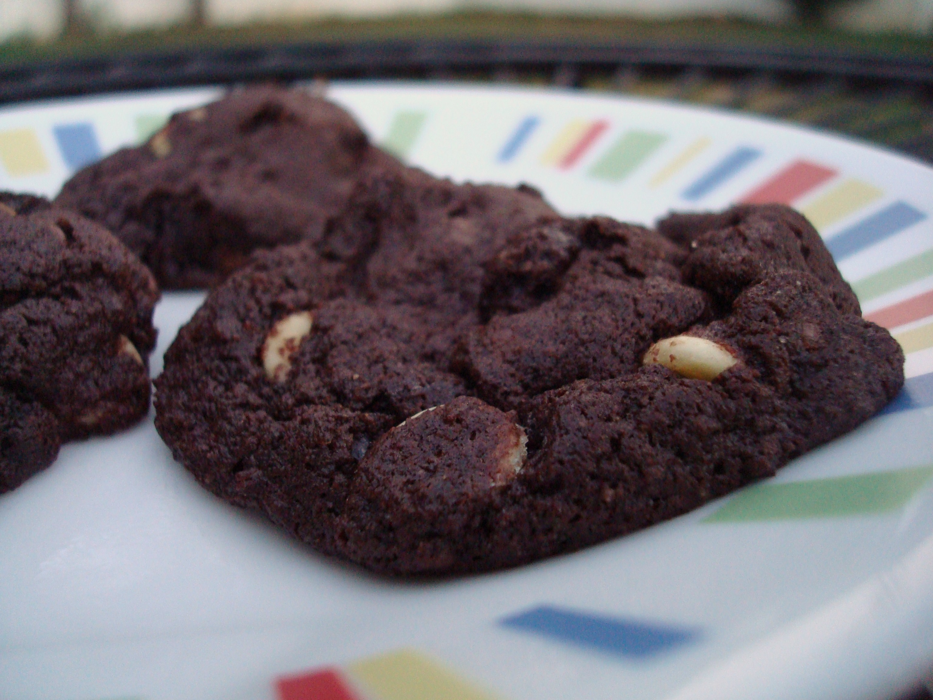 Chocolate Chai Latte Cookies