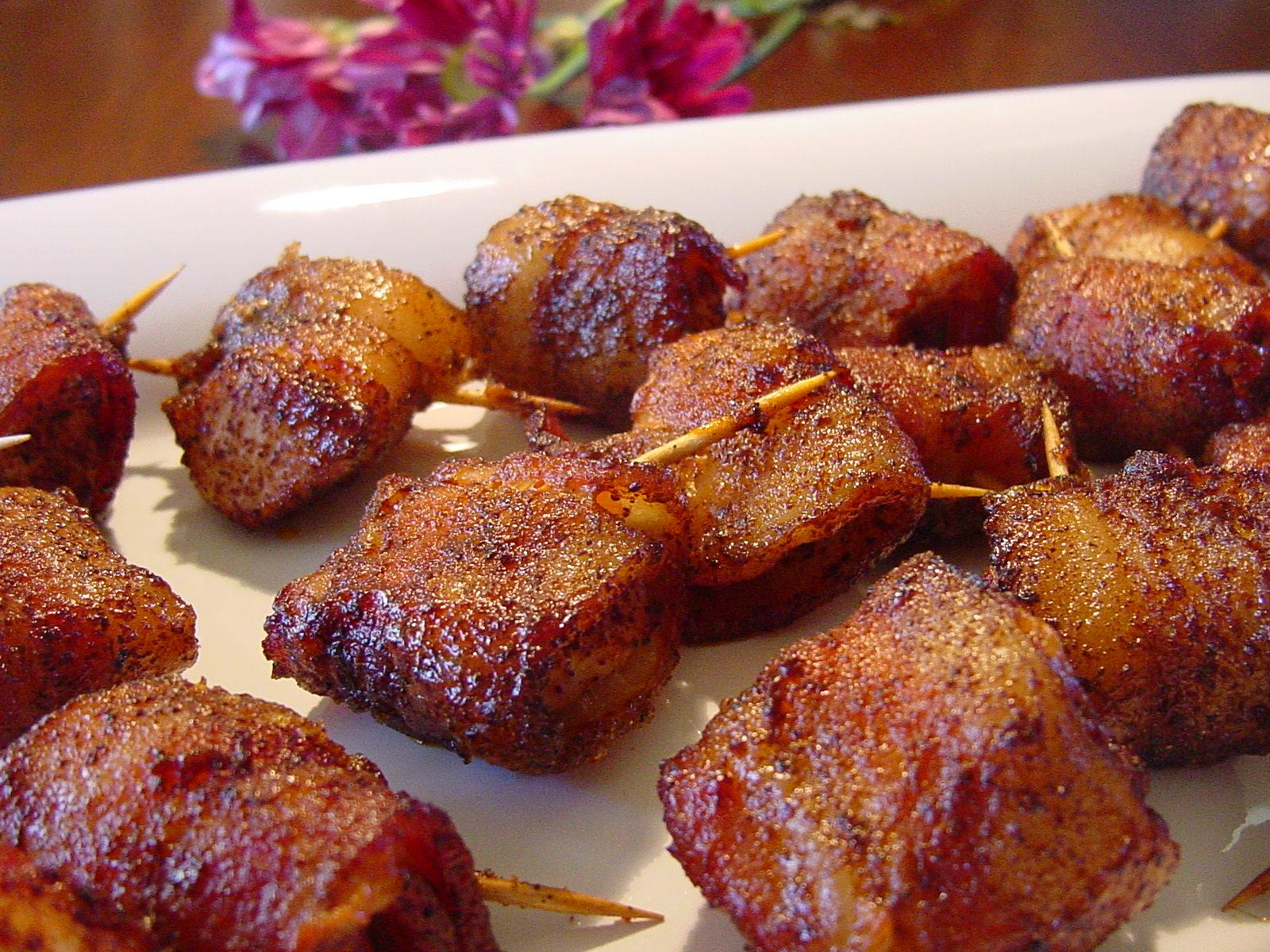 Sweet Chicken Bacon Wraps (Paula Deen) Recipe