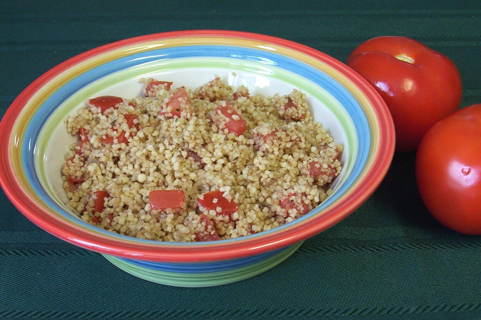 Balsamic Tomato Couscous