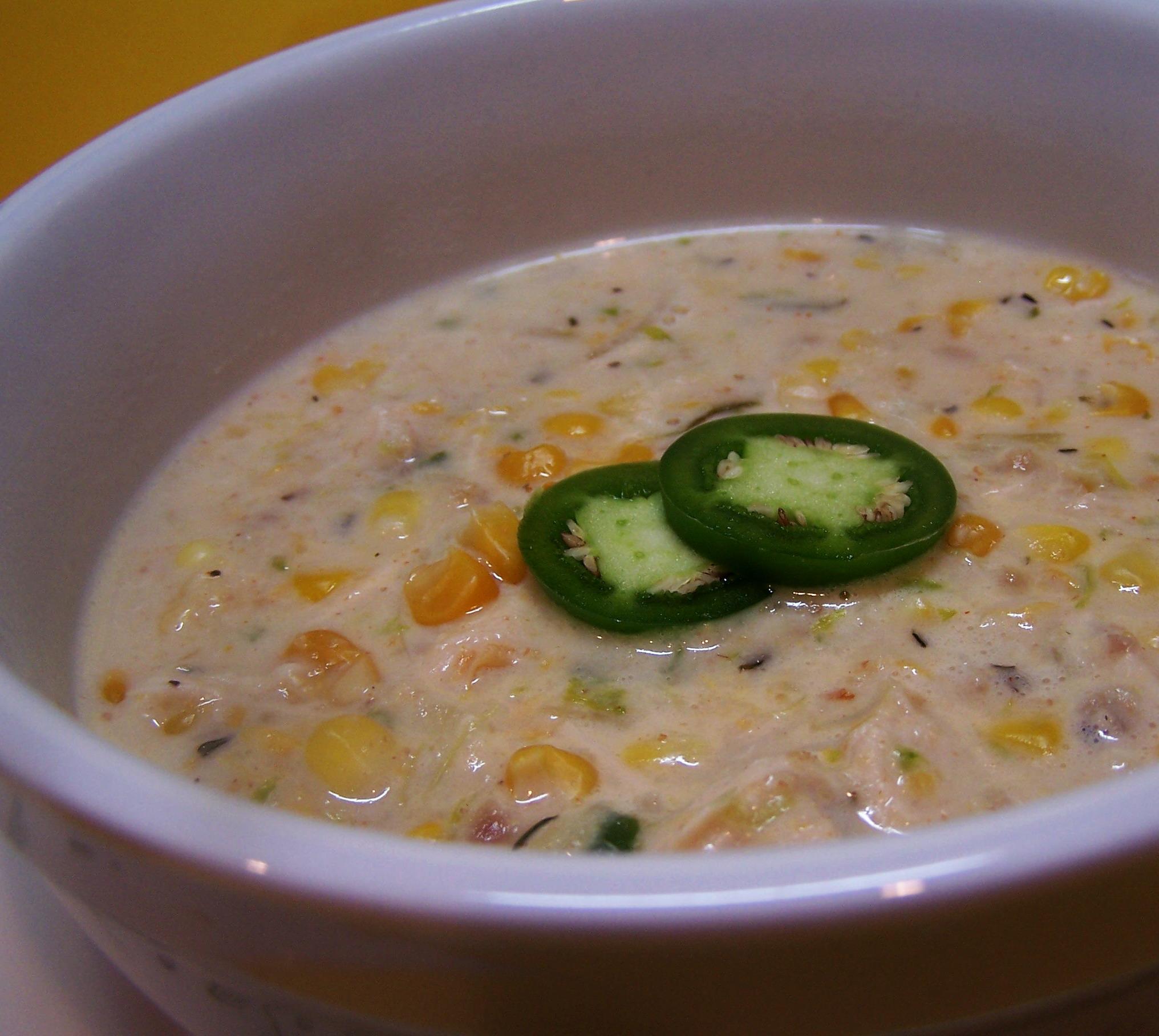 Chicken Corn Chowder – Quick