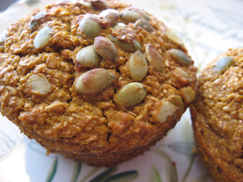 Pumpkin-Oat Bran Muffins