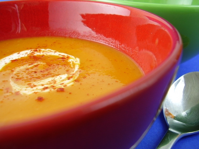 Wonderful Curried Sweet Potato Soup Recipe