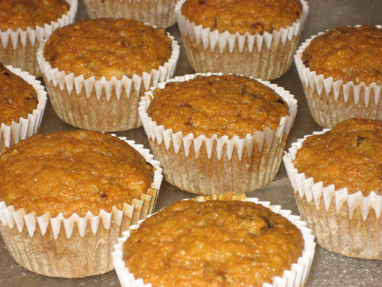 Eggless Vegan Carrot Cake Cupcakes Recipe