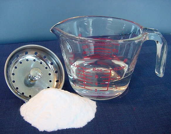 Homemade Drain Cleaner and Declogger Recipe