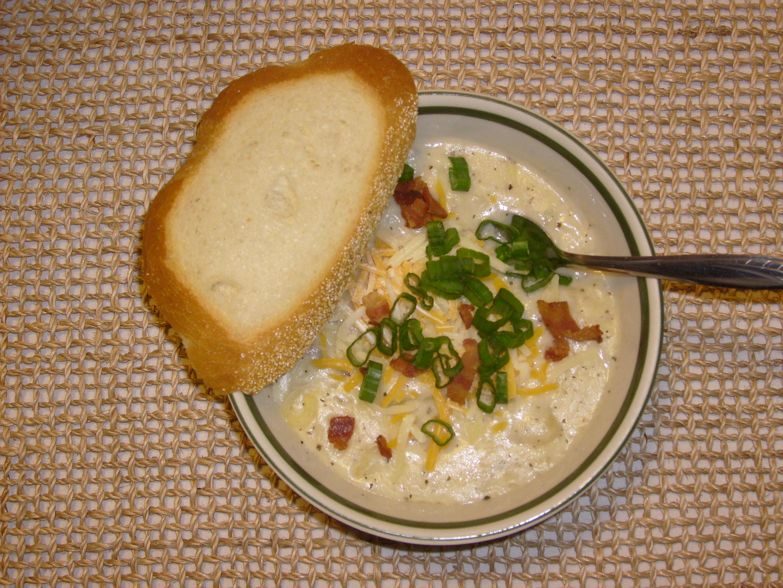 TSR Version of Tony Roma's Baked Potato Soup by Todd Wilbur