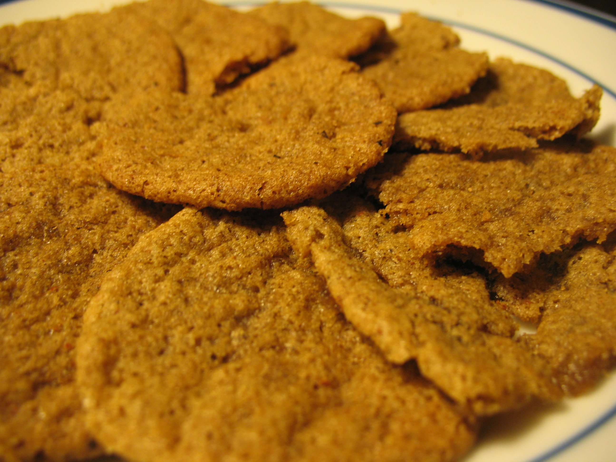 1995 1st Place: Swedish Spice Cookies