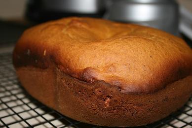 Pumpkin Spice Bread (Breadmaker)