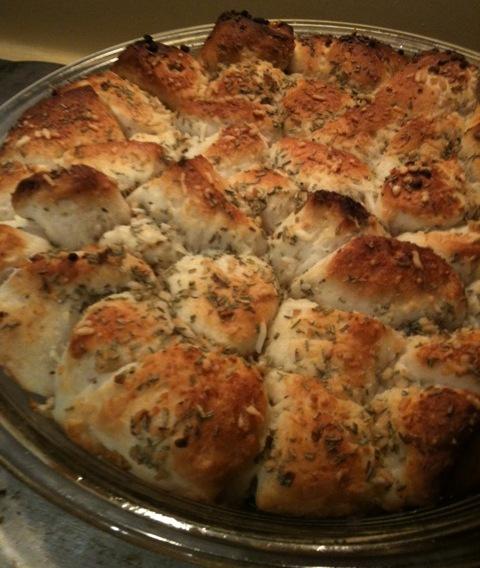 Cheesy Garlic Pull Aparts Recipe