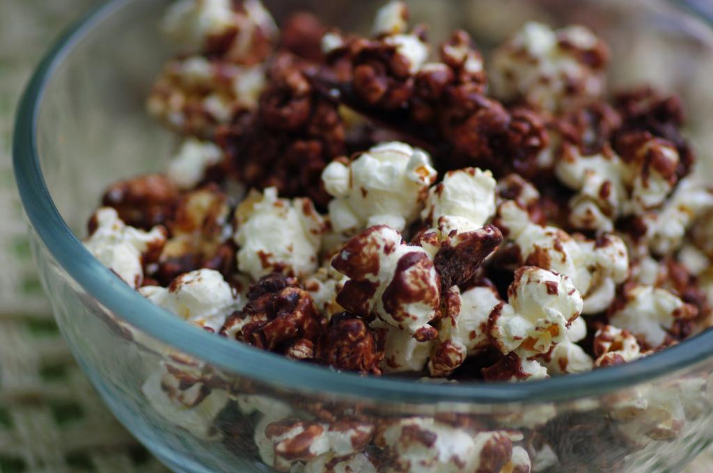 Milk Chocolate Popcorn