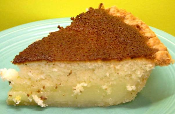 Lemon Cake Pie Recipe
