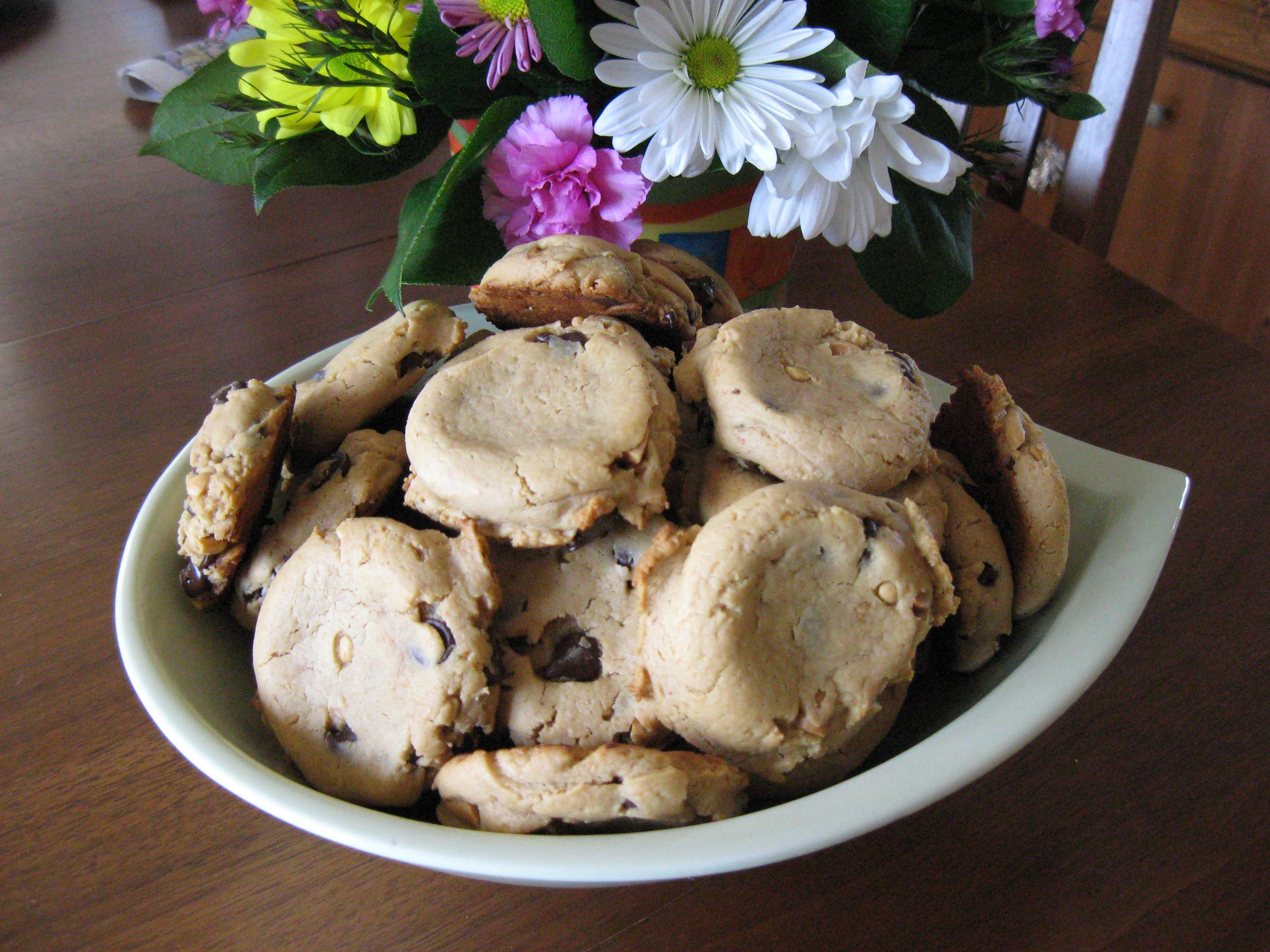 Chocolate Chip Spelt Cookies (Vegan)
