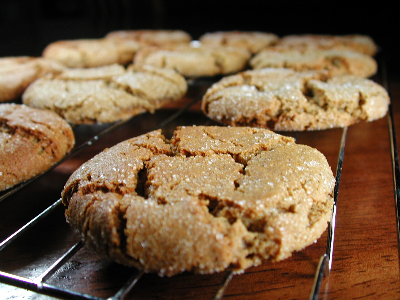 Soft, Spicy, Heavenly Ginger Cookies