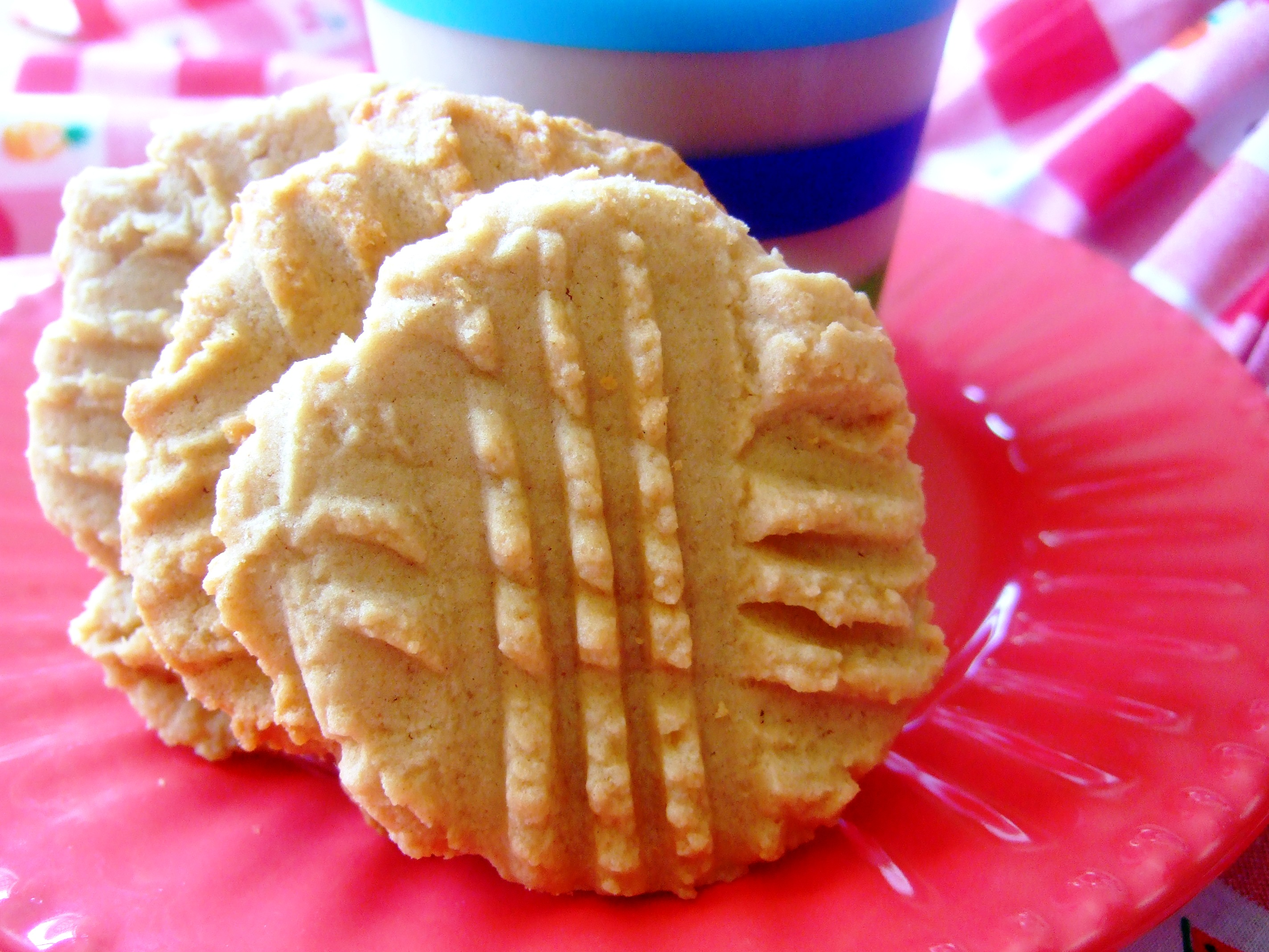 Soft Peanut Butter Cookies Recipe