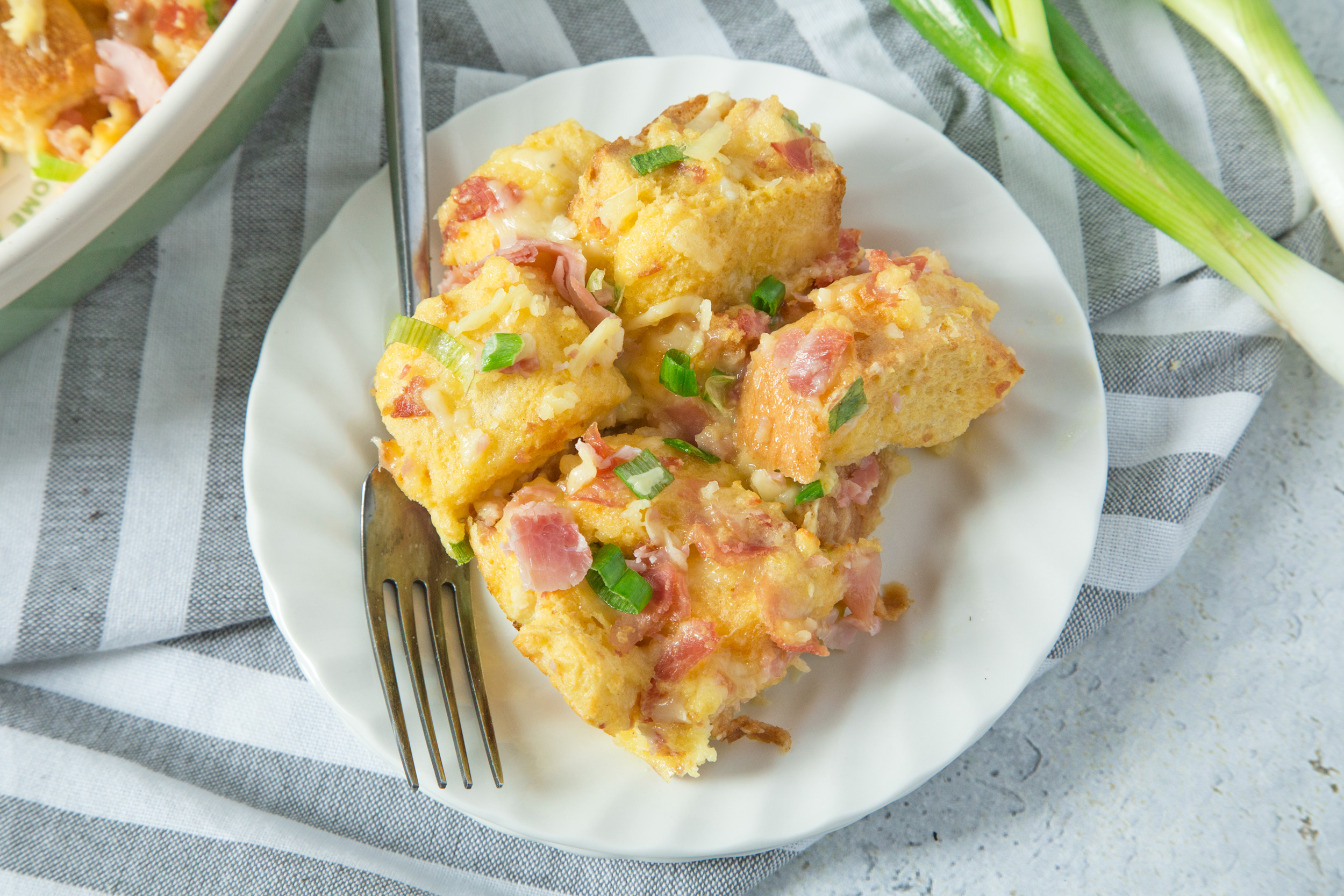 Egg Casserole for Two