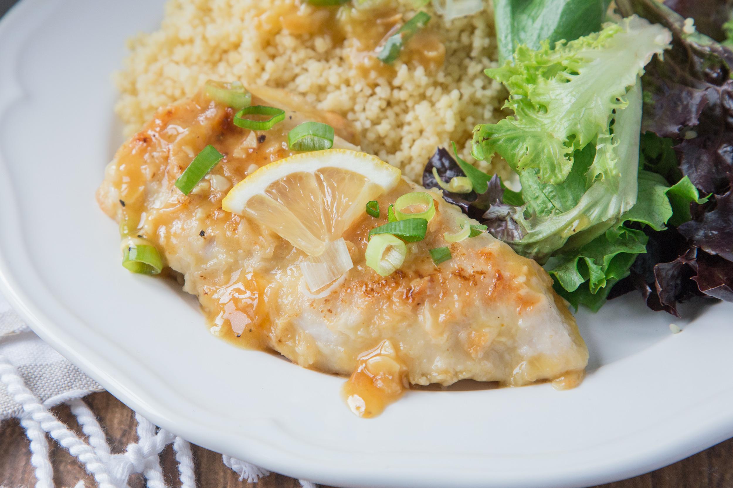 15 Minute Garlic Lemon Chicken Recipe