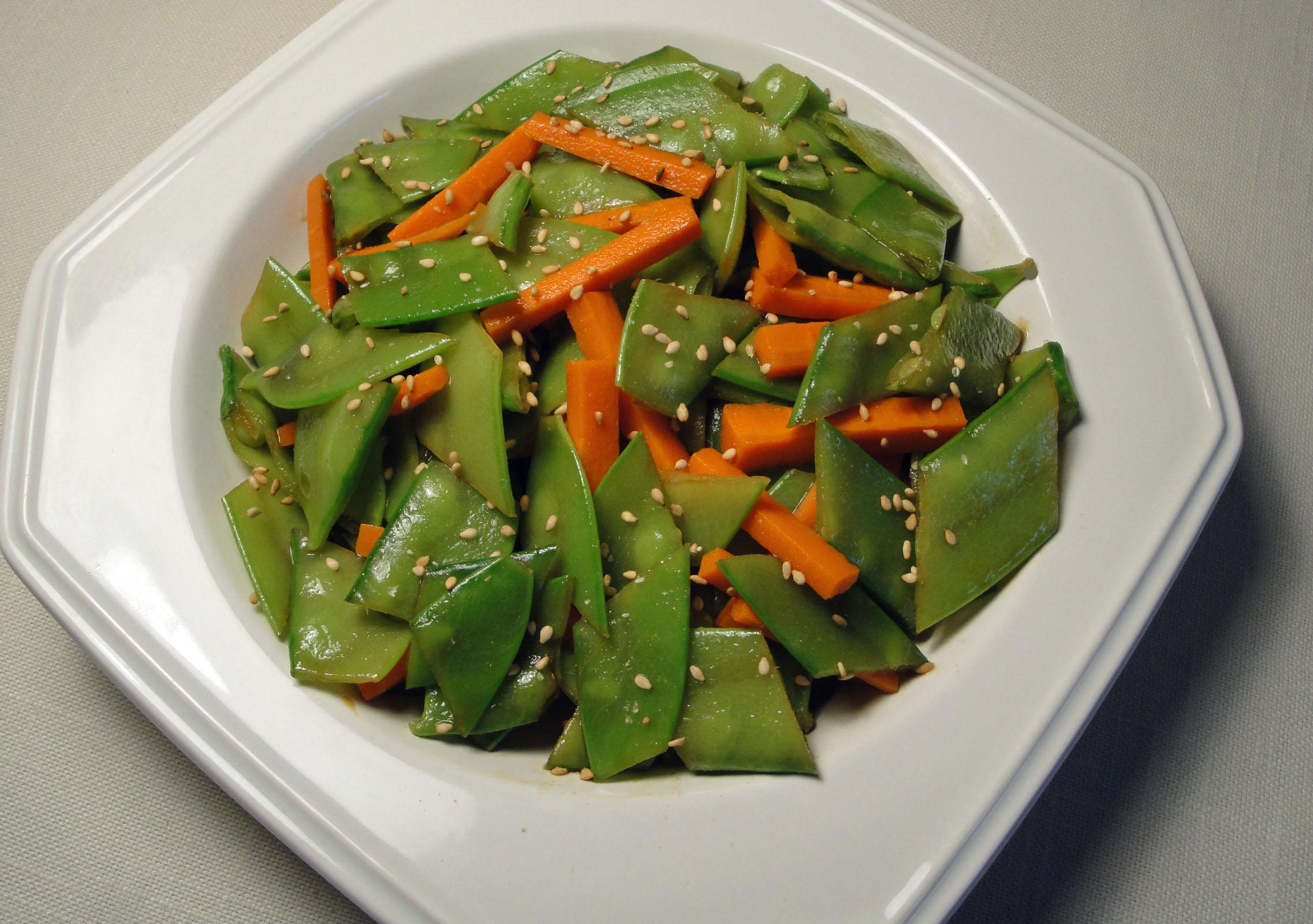 Crisp Snow Pea Salad