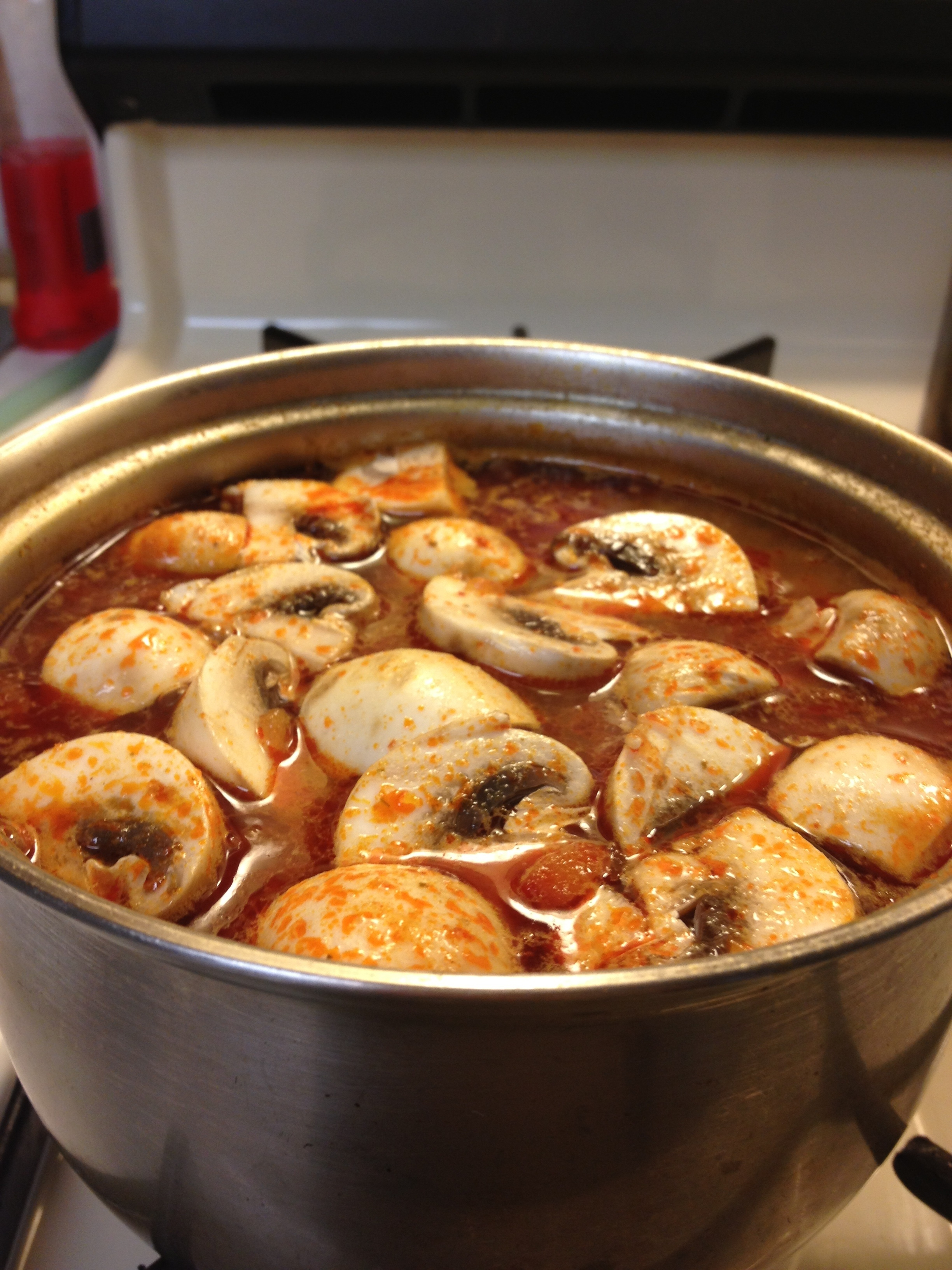 Quickie Tom Yum Soup
