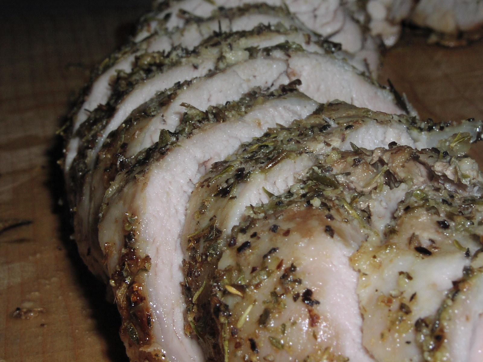 Basic Roasted Pork Tenderloin (3 Ww Points)