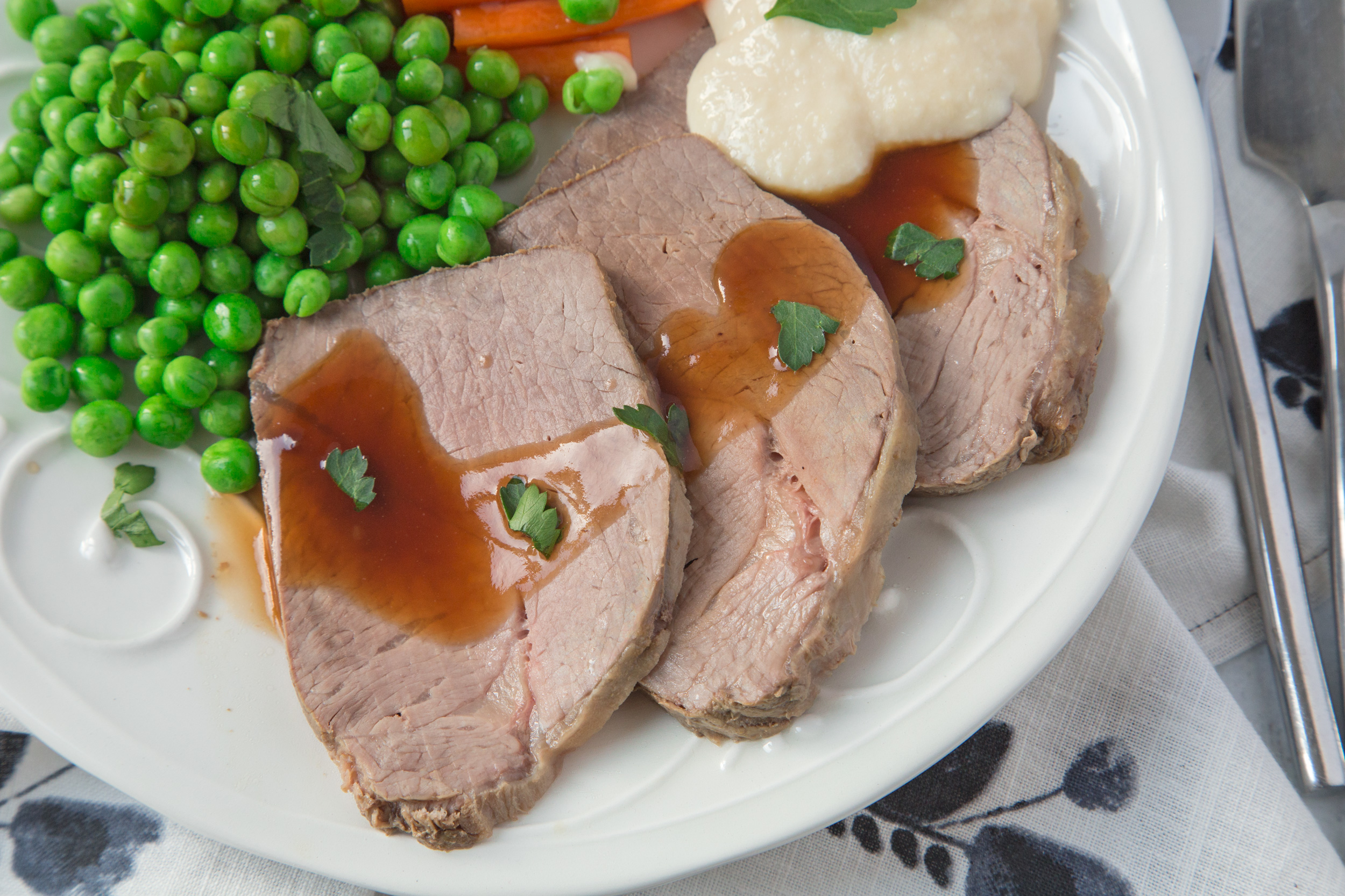 Shirley's Perfect Rare Roast Beef