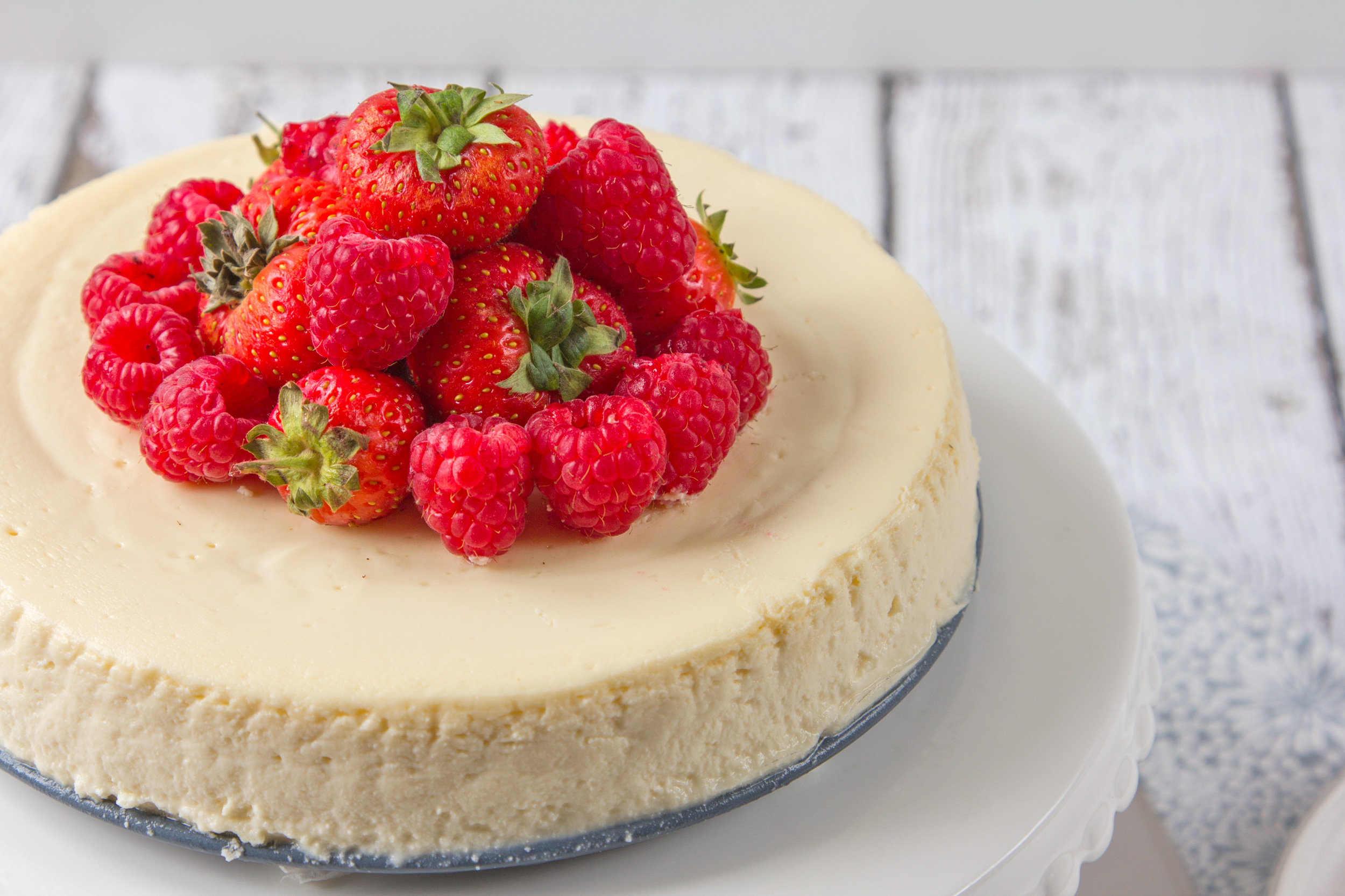 Absolutely the Best New York Cheesecake (Gluten-Free)