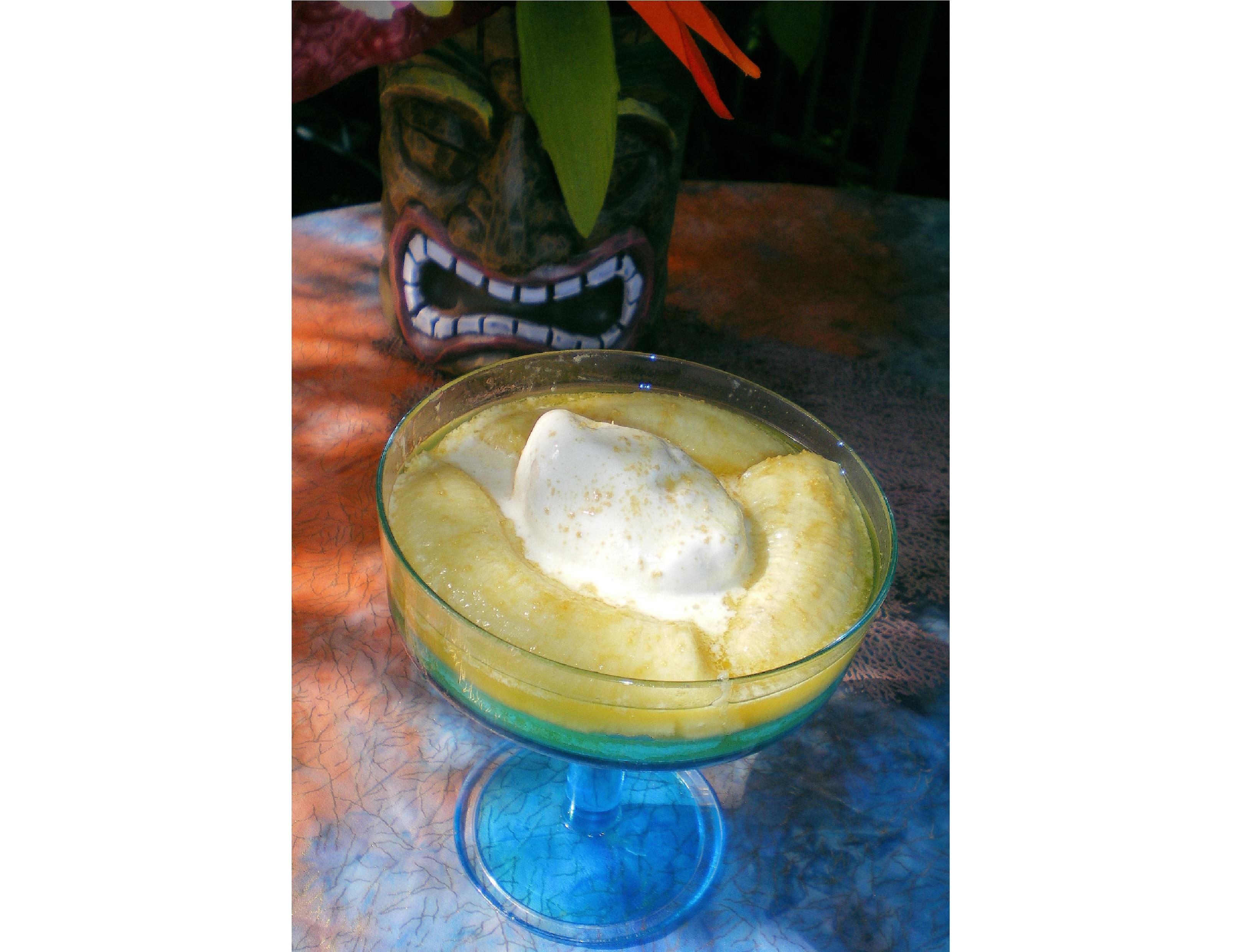 Coconut banana icecream 6