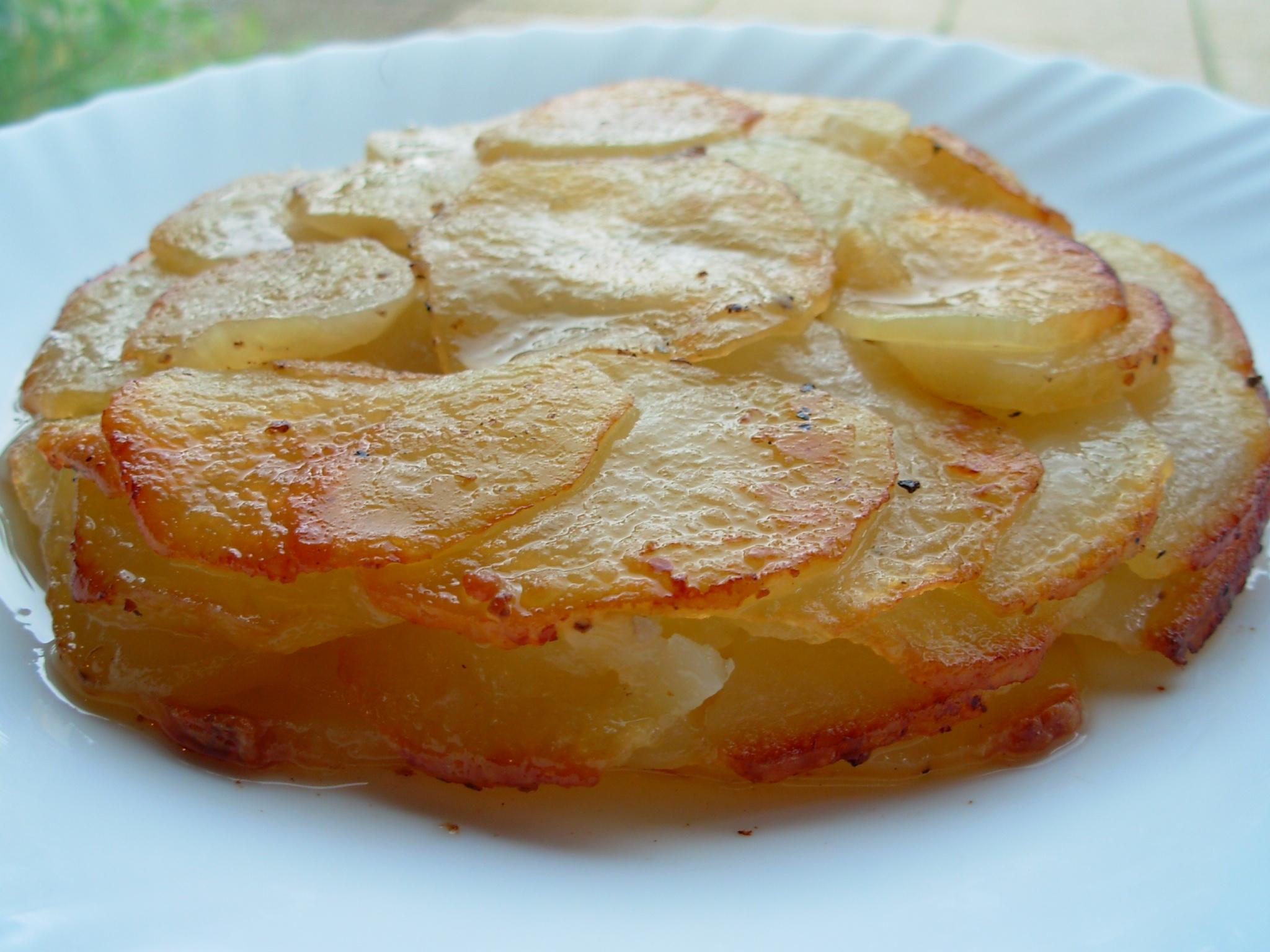 Гратен из картофеля классический рецепт с фото пошагово, как 25
