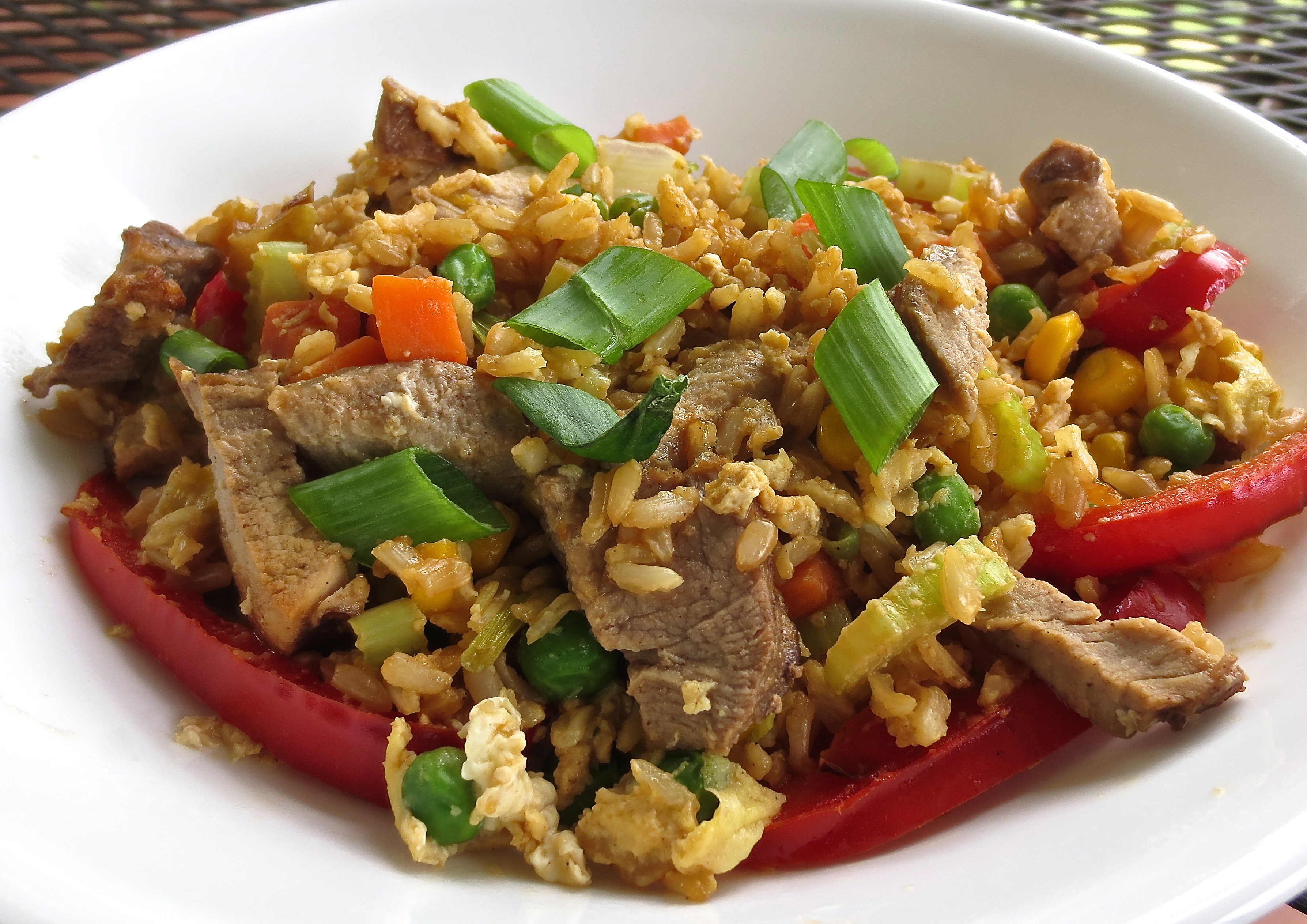 Basic Fried Rice – With Variations
