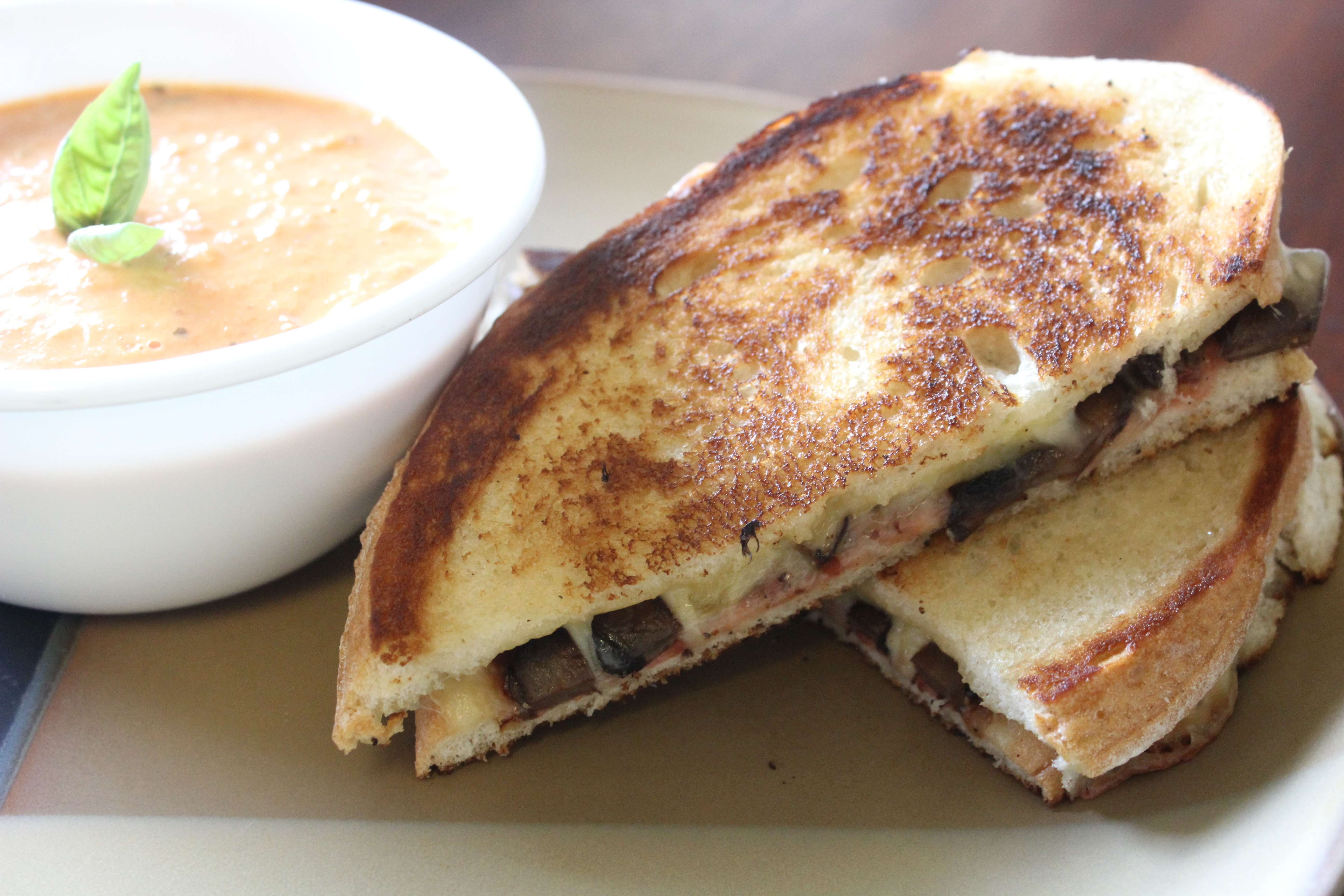 Mushroom Grilled Cheese Recipe