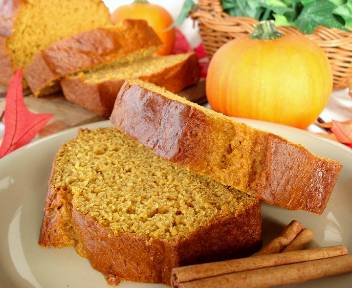 Pumpkin Pie Spice Bread Recipe