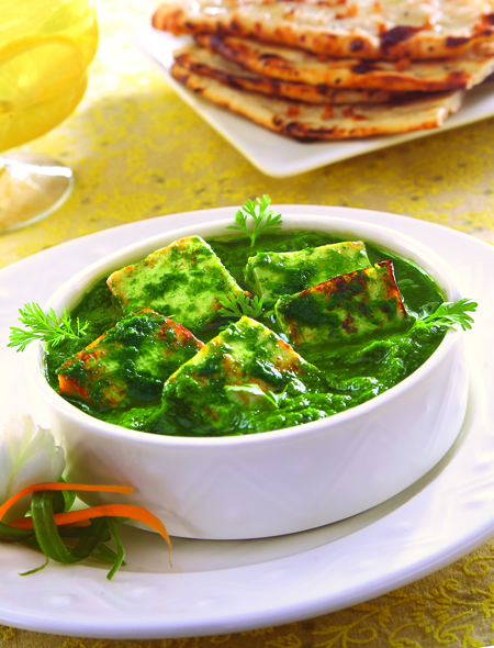 Palak Paneer (Indian Fresh Spinach With Paneer Cheese) Recipe