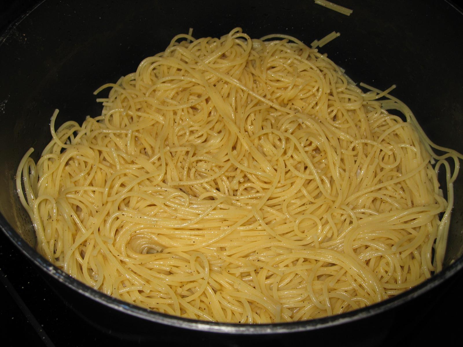 Simple Spaghetti Dish