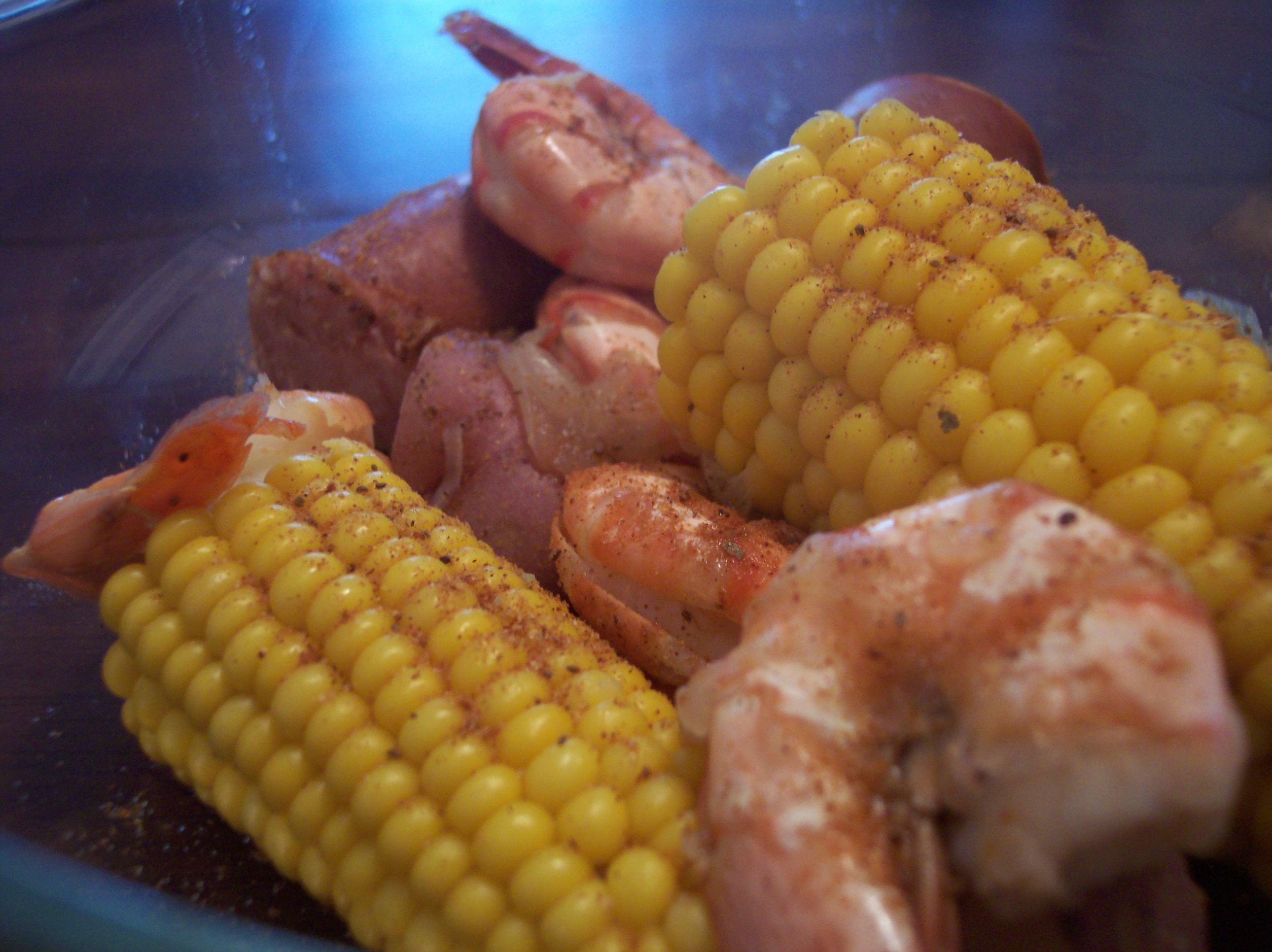 Old Bay Shrimp Boil