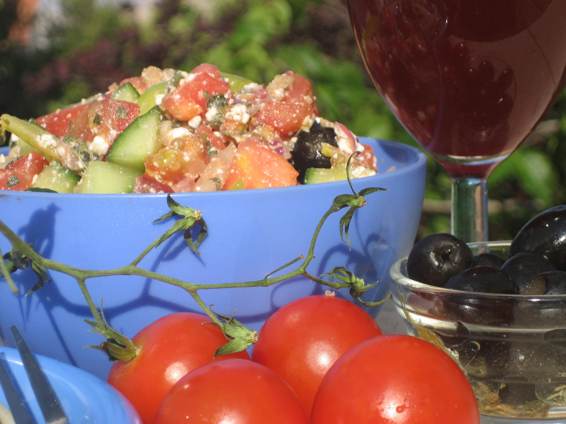 Greek Tomato Salad Recipe