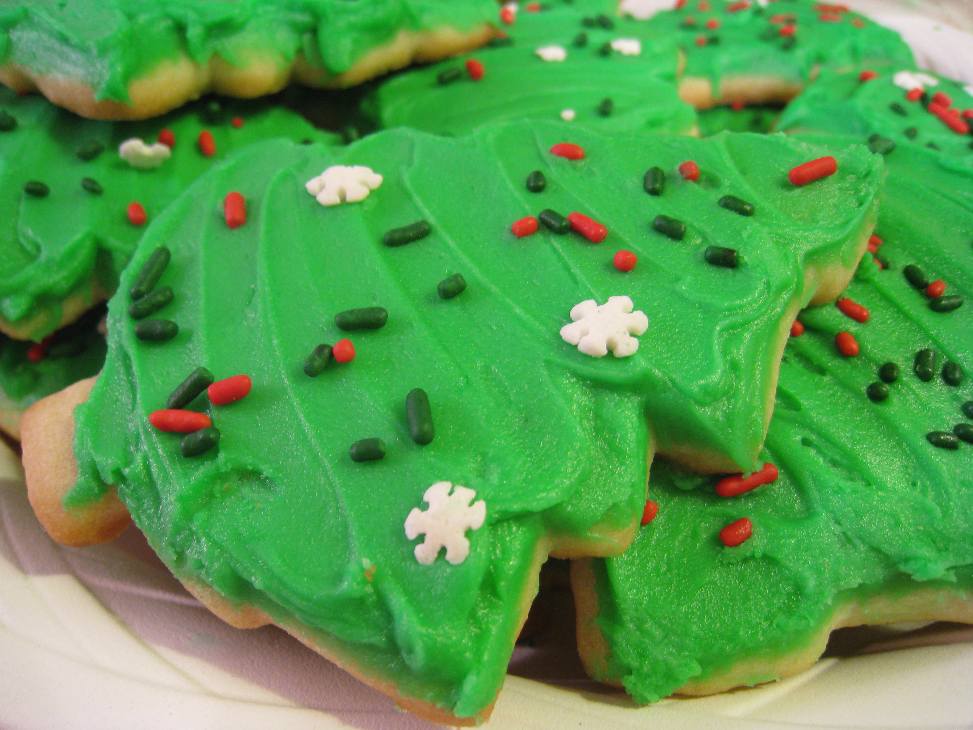 Kittencal's Buttery Cut-Out Sugar Cookies W/ Icing That Hardens Recipe
