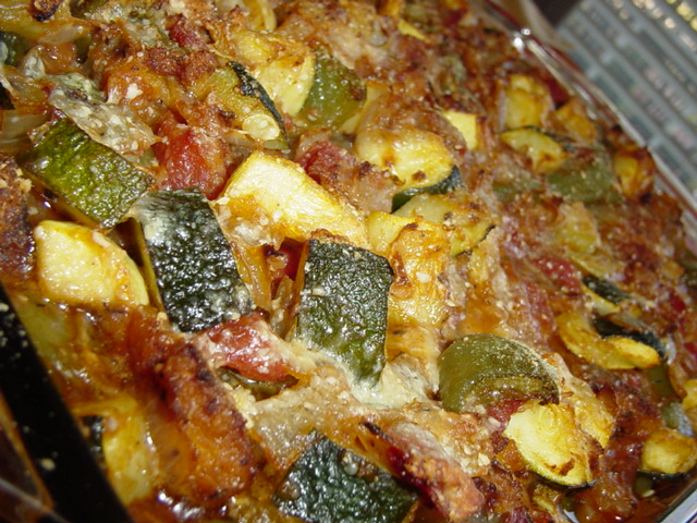 Zucchini or Yellow Squash Casserole Recipe