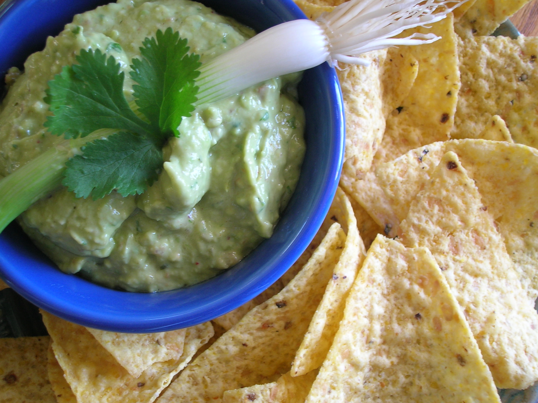 Guacamole With Sour Cream Recipe