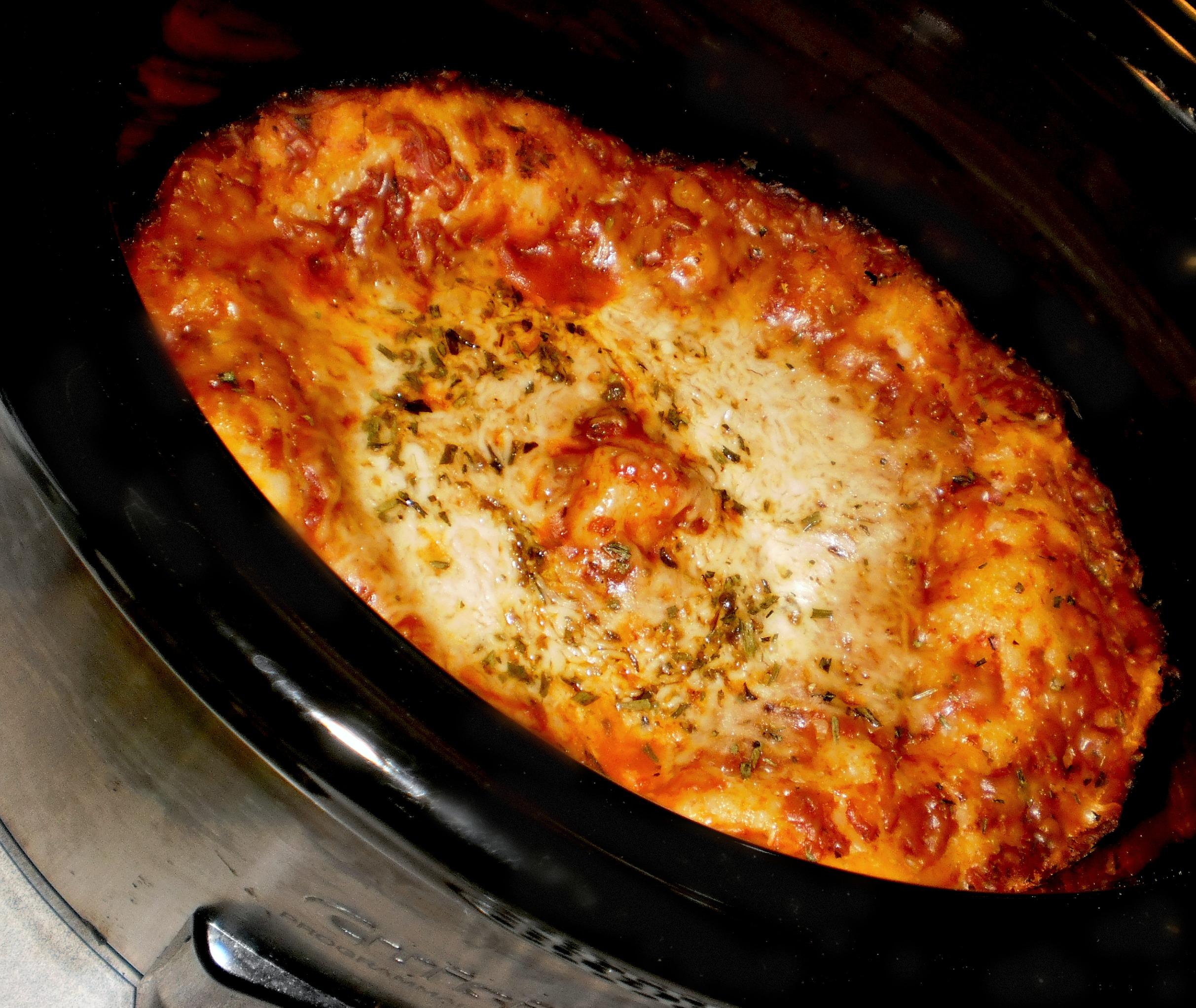 Rosemary's Original Crock Pot Pizza
