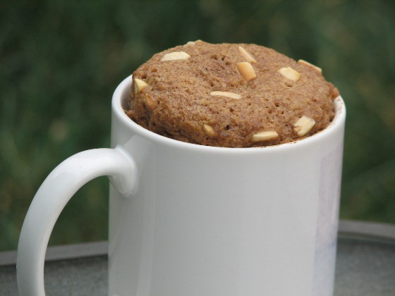 One Minute Flax Muffin – Low Carb