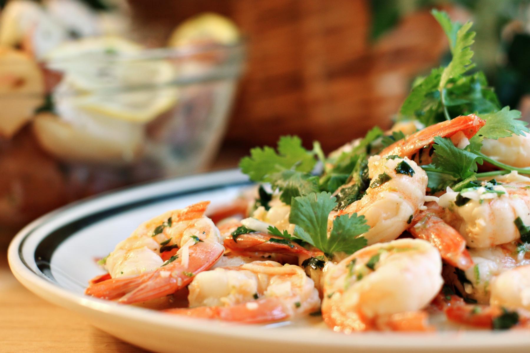 Ww Shrimp With Cilanto and Lime – 5 Pts.