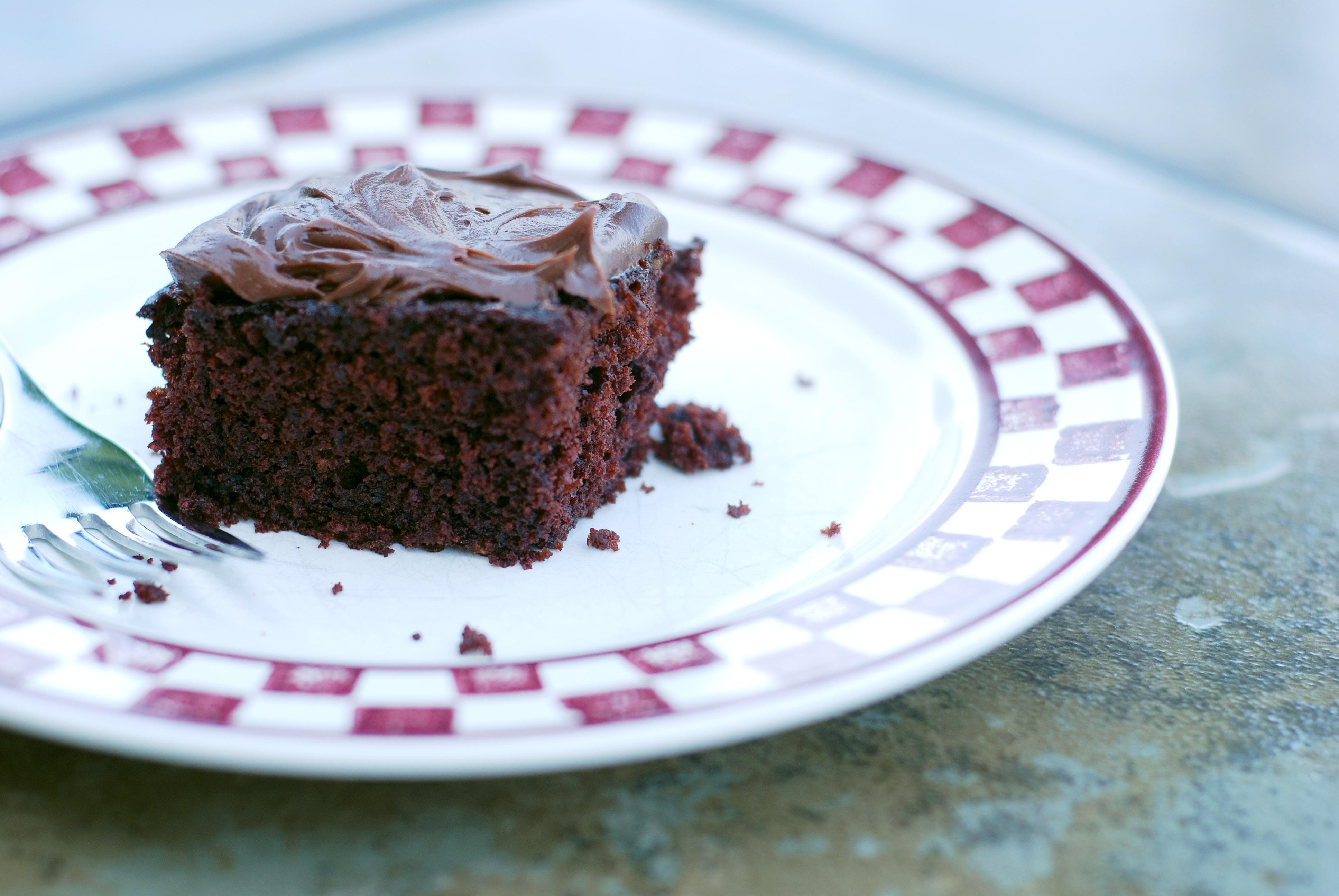 1 Pan Fudge Cake Recipe
