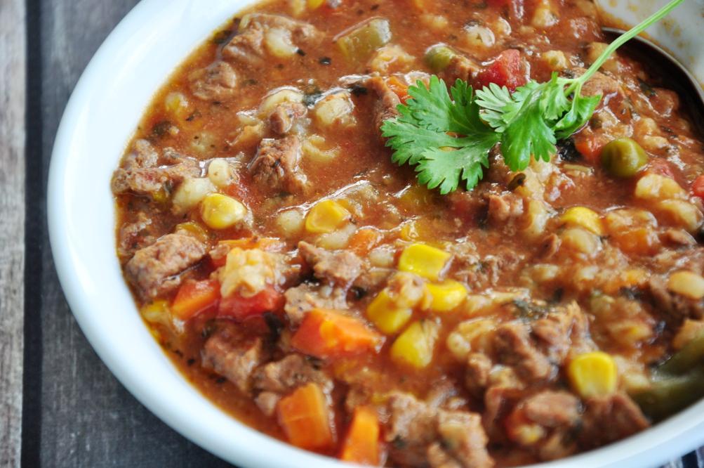 Beef-Barley Soup Recipe